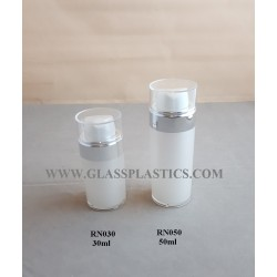 Acrylic Round Airless Bottle - 30ml & 50ml