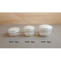 Acrylic Jar - 15gm, 30gm, 50gm (JN Series)