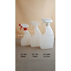 Trigger Sprayer Bottle - 500ml - 1.0 Liter