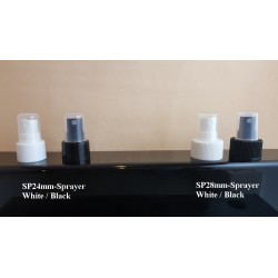 Plastic Sprayer: 24mm & 28mm Cap Size