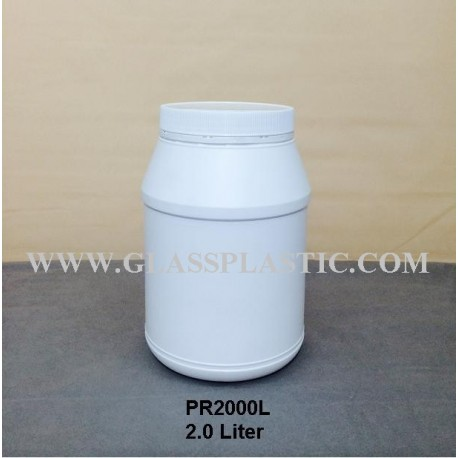 2.0 Liter HDPE Container