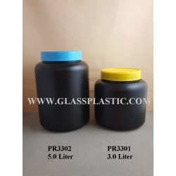 Wide Mouth Container: 3.0 Liter & 5 Liter