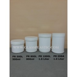 PP Cream Container: 500gm. 800gm and 1kg