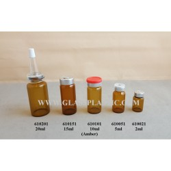 Borosilicate Bottle: 2ml to 20ml
