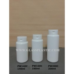 Powder Bottle (HDPE) : 140ml, 160ml & 200ml