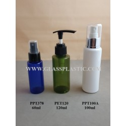 Cosmetic PET Bottle - 60ml to 120ml
