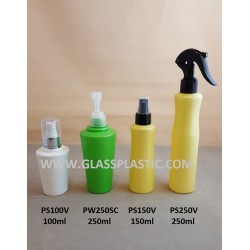 Cosmetic HDPE Bottle - 100ml to 250ml
