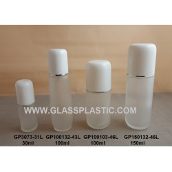 Cosmetic Glass Bottle & Jar - Big Cover