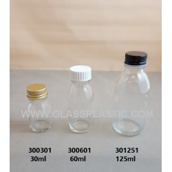 Clear Syrup Bottle - 30x Series