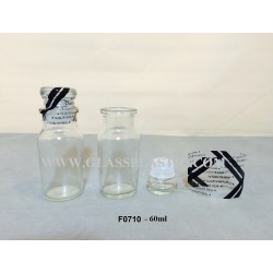 F0710 - 60ml Glass Bottle