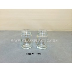 30JGW - 30ml Glass Bottle
