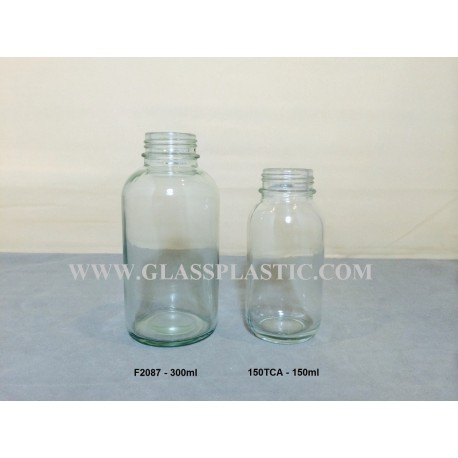 Coughing Syrups Glass Bottle