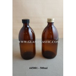 Amber Syrup Bottle - 445001 - 500ml