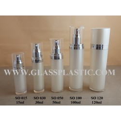 Acrylic Round Bottle - 15ml to 120ml