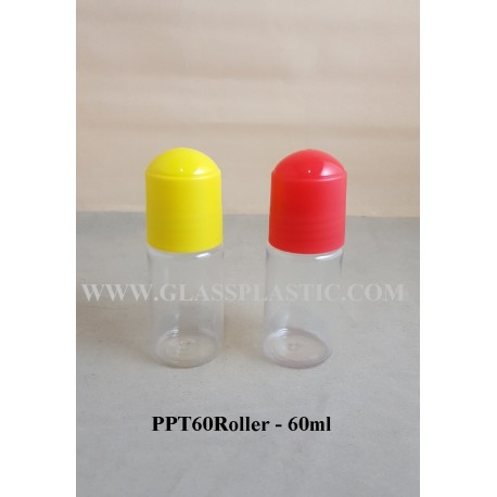 PET Roller Bottle: 60ml