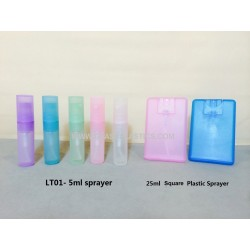Pocket Perfume Sprayer - 5ml & 25ml