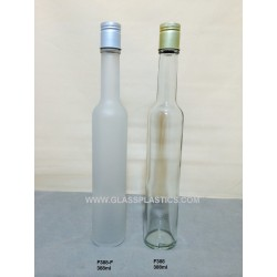 Round Glass Bottle - 388ml