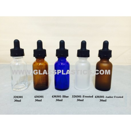 E-Cigarette Oil Bottle - Round