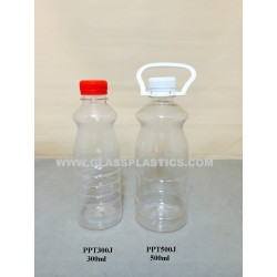PET Plastic Bottle - 300ml & 500ml