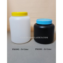 5.0 Liter & 3.0 Liter Wide Mouth Jar